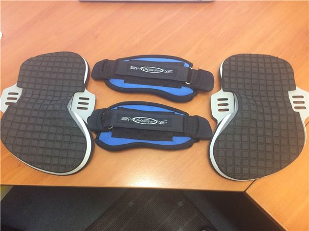 Spa Footstraps And Pads