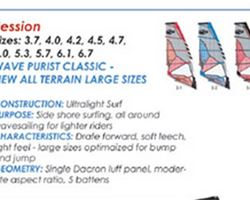 Naish Session 4.5 metre windsurfing sail