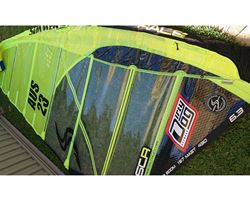 Simmer Style  6.3 metre windsurfing sail