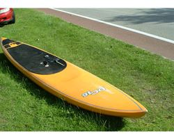 "DC Dc-16 28 inches 16' 0"" stand up paddle racing & downwind board"