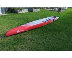 "Fanatic Strike 21.5 inches 14' 0"" stand up paddle racing & downwind board"