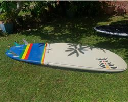 "Blue Planet Surf Potato Chip? 32 inches 8' 11"" stand up paddle wave & cruising board"