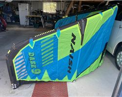 Naish Dash 9 metre kiteboarding kite