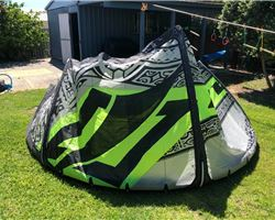 Naish Park 8 metre kiteboarding kite