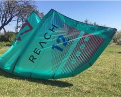 North Reach With Bar And Lines 12 metre kitesurfing kite