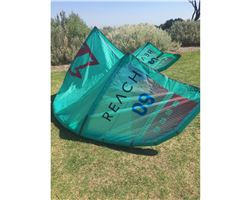 North Reach 9 metre kitesurfing kite