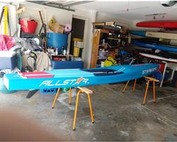 "Starboard All Star 24.5 inches 14' 0"" stand up paddle racing & downwind board"