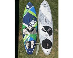 Fanatic Freewave windsurfing board