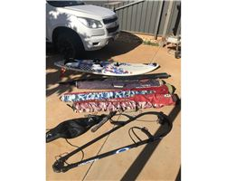 Quatro Freestyle Wave 105 litre windsurfing board