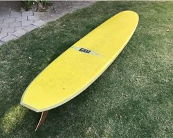 "Gordon Woods Malibu 9' 9"" surfing longboards (7' and over)"