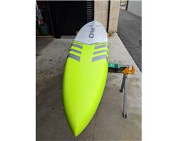 "One Storm 2.0 24.5 inches 14' 0"" stand up paddle racing & downwind board"