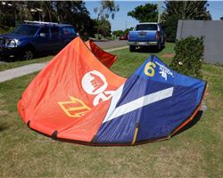 North Neo 9 metre kiteboarding kite