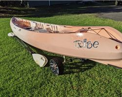 Perception Tribe 13.5 metre boating canoes, kayak