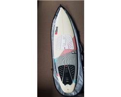 "Best 5'8 Best Shifty Pro Kite Surfboard 5' 8"" kitesurfing surfboard"