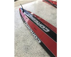Coreban Turbo 14' Carbon stand up paddle racing & downwind board