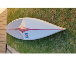 "Fanatic Fanatic Fly Race 30.5 inches 12' 6"" stand up paddle wave & cruising board"