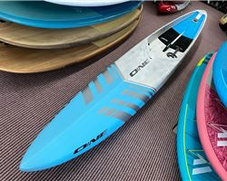 "One Unlimited Ultra Light 24.5 inches 17' 11"" stand up paddle racing & downwind board"