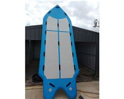 "Custom 8 Person Sup 60 inches 18' 0"" stand up paddle wave & cruising board"