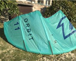 North Orbit 11 metre kiteboarding kite