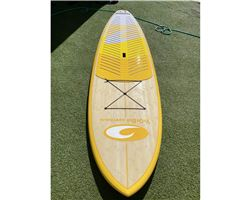 "Yob Australia Bluegrass With Cover 33 inches 10' 2"" stand up paddle wave & cruising board"