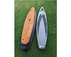 "Fanatic Fly Carbon 14' 0"" stand up paddle racing & downwind board"