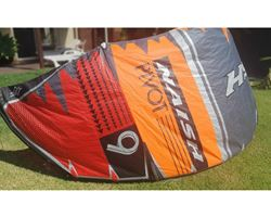Naish Pivot 9 metre kiteboarding kite