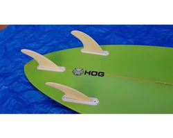 "Hog Custom Pintail Thruster 6' 2"" surfing shortboards (under 7')"