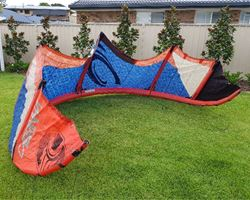 Cabrinha Switchblade 10 metre kiteboarding kite