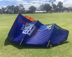 North Rebel 8 metre kiteboarding kite