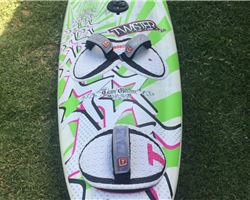 Tabou Twister 100 litre windsurfing board
