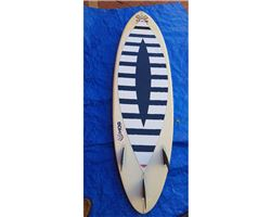 "Hog Custom Pintail Thruster 6' 8"" surfing shortboards (under 7')"