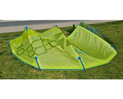 North Rebel 10 metre kitesurfing kite