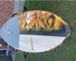 "Sunova Casey. Flash 8' 3"" stand up paddle wave & cruising board"