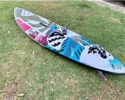 Fanatic Twin Te 79 litre windsurfing board
