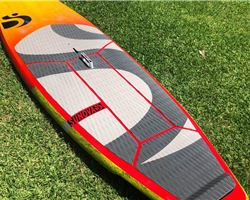 "Sunova Creeek 28 inches 8' 4"" stand up paddle wave & cruising board"