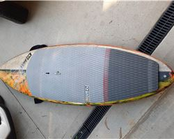 "Sunova Flash 30 inches 8' 9"" stand up paddle wave & cruising board"