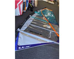 Duotone Fpace 6.4 metre windsurfing sail