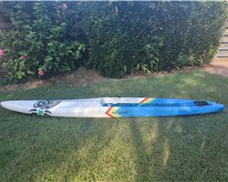 "Blue Planet Surf Custom 21 inches 14' 0"" stand up paddle racing & downwind board"