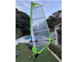 Ezzy Sails Superlite 3.5 metre windsurfing sail