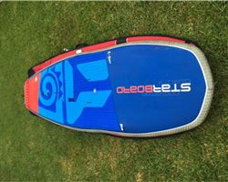"Starboard Hypernut 4 In 1 31.5 inches 8' 0"" stand up paddle wave & cruising board"