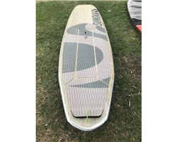 "Sunova Speeed 28.5 inches 8' 8"" stand up paddle wave & cruising board"