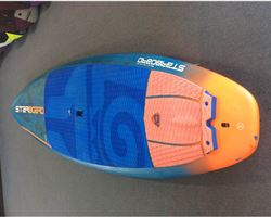 "Starboard Pro Blue Carbon 29 inches 9' 0"" stand up paddle wave & cruising board"