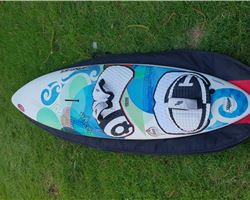 Carbon Art Wave 89 & 78 232 cm windsurfing board