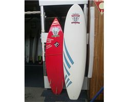 "Black Label Mini Mal 7' 2"" surfing shop special"