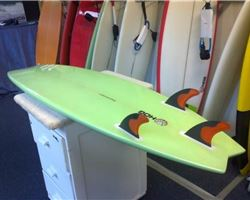 "Hog Custom Swallow Tail 6' 2"" surfing shortboards (under 7')"