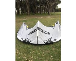 Core Free 10 metre kiteboarding kite