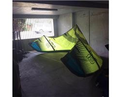 Neil Pryde Cr:X 10 metre kiteboarding kite