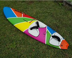 Nude Chopper 84 litre 225 cm windsurfing board