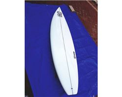 "Hog Custom Square Tail Thruster 6' 6"" surfing shortboards (under 7')"