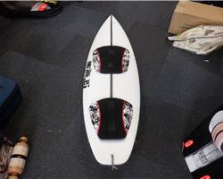 "Js Custom With Nsi Plugged Pads 5' 9"" kiteboarding surfboard"